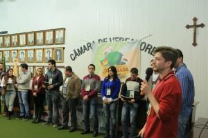 Jovens elaboraram a Carta de Santa Cruz durante o evento.