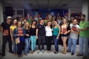 Os encontros presenciais foram realizados no auditório do PMDB Amazonas.