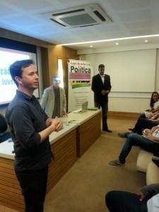 Curso contou com a palestra de Marcio Carvalho, representante da FUG Nacional.