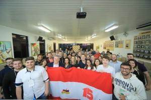 Jovens de diversas regiões participaram do encontro.