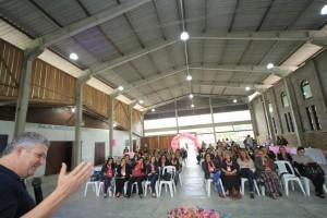 O evento contou com a participação das mulheres do PMDB-RS das regiões Metropolitana, Vale dos Sinos e especialmente Litoral Norte.