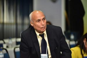 Paulo Baía durante o lançamento do novo curso.
