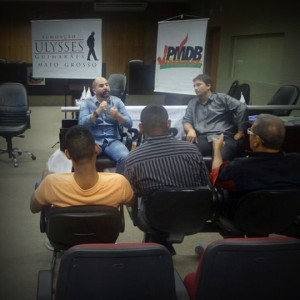 A capacitação contou com a participação de vereadores, representantes da juventude e de militantes e simpatizantes do PMDB.