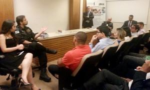 Seminário debateu questões relativas à segurança pública no Rio de Janeiro.