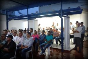 A formação não para em São Paulo.