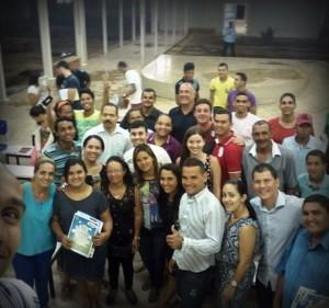 A formação política não para em todo o Brasil.