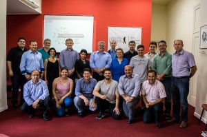 Grupo de estudos contou com a participação de 19 mediadores.