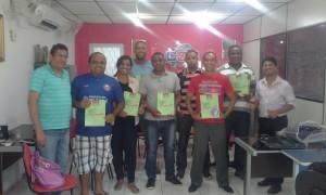 Alunos da primeira turma do Saber para Vencer de Itaboraí.