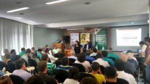 A gerente do Programa de Formação Política, Elisiane da Silva, destacou que o curso é para todos os envolvidos no processo das eleições municipais.