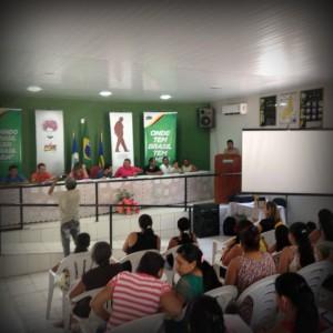 Formação em Morro do Chapéu contou com a parceria do PMDB Mulher.