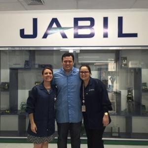 Na tarde desta sexta, a coordenação do EAD se reuniu com o RH da JABIL.