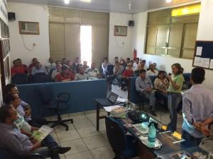 Formação reuniu representantes de mais de dez partidos políticos.