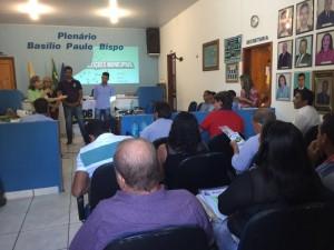 Mais de 50 pré-candidatos se reuniram em Araguaçu para aprimorar seus conhecimentos.
