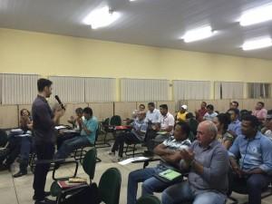Pré-candidatos de Miracema e Lajeado participaram das atividades.