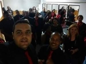 Integrantes comemoram um ano de Coral Ulysses Guimarães.