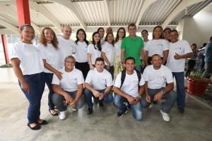 Senador Romero Jucá junto com a equipe da FUG/Roraima.