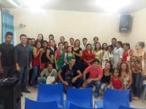 Turma do curso Saber para Vencer em Rorainópolis.
